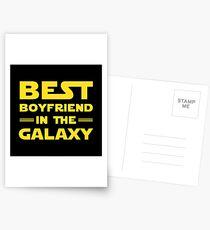 Best Boyfriend in the Galaxy Postcards