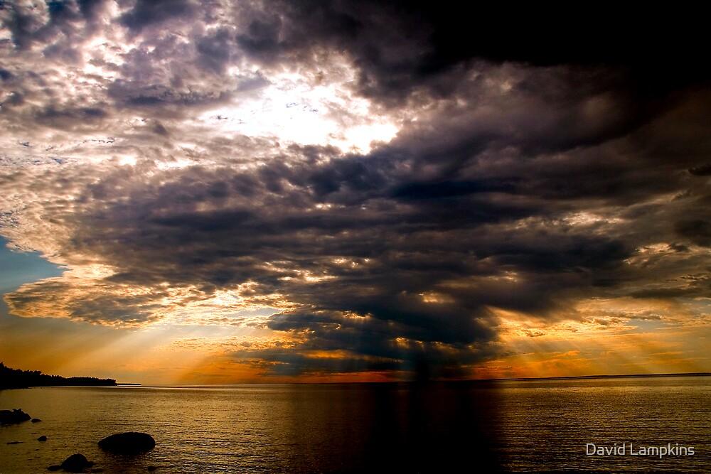 Lake Superior Cold Front by David Lampkins