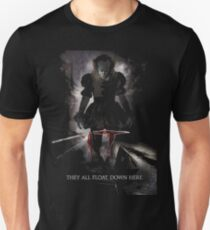 They All Float Here T-Shirt