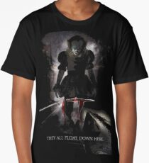 They All Float Here Long T-Shirt
