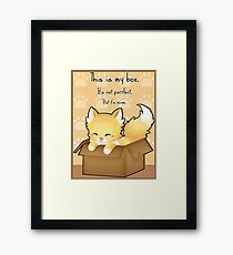 This Is My Box Framed Print
