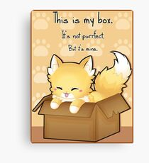 This Is My Box Canvas Print