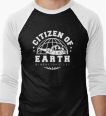 Earth Dimension C-137 Men's Baseball ¾ T-Shirt