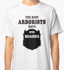 Arborist with beards, tree surgeon gift t shirt Classic T-Shirt