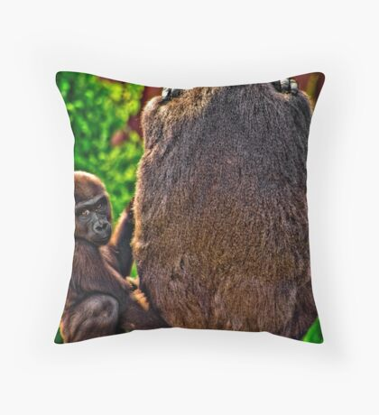Good Mom Throw Pillow