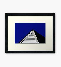Pyramids of the Human Kind Framed Print