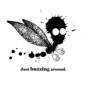 Just buzzing aroud by Designpoteten