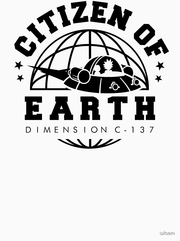 Earth Dimension C-137 by wloem