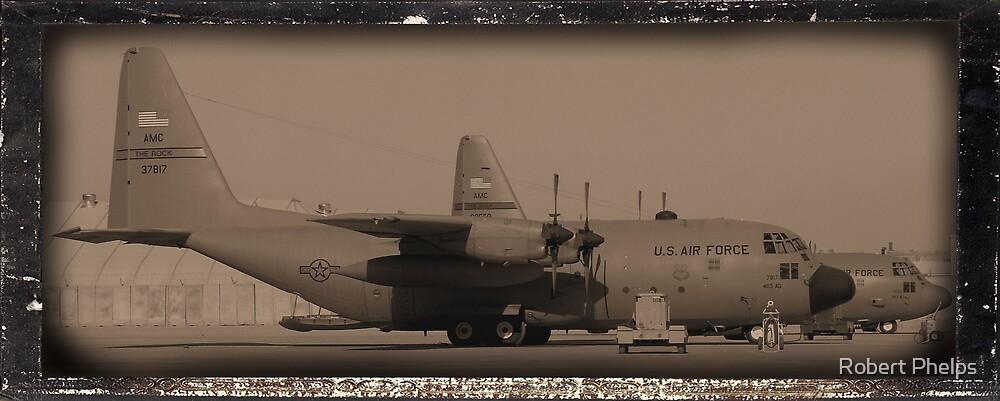 C-130 in Sepa-tone by Robert Phelps