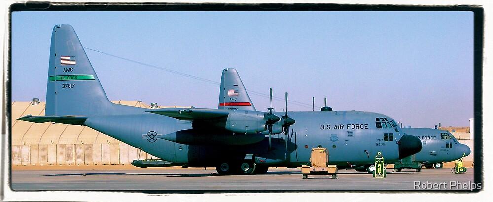 Vintage C-130 by Robert Phelps