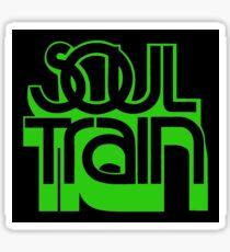 SOUL TRAIN (GREEN) Sticker