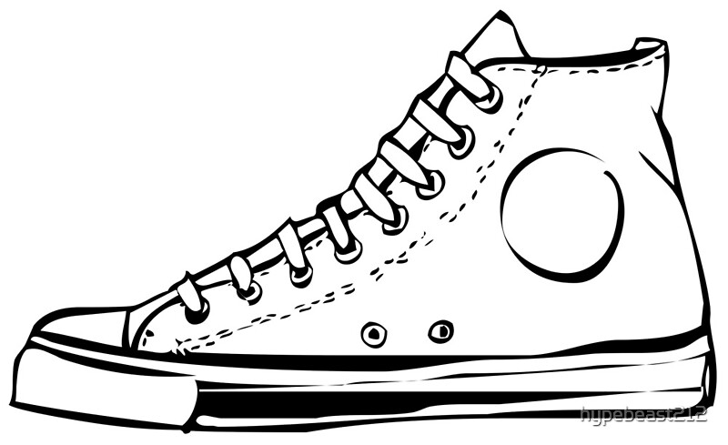 Converse Chuck Taylor Shoes | Art Print