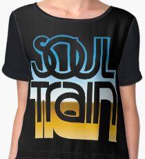 SOUL TRAIN (MIRROR 80s) Women's Chiffon Top