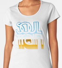 SOUL TRAIN (MIRROR 80s) Women's Premium T-Shirt