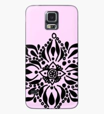 mandala doodle calm flower pedals caseskin for samsung galaxy - Galaxy Muster