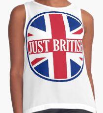 Just British Motoring Magazine Round Logo Contrast Tank