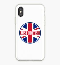 Just British Motoring Magazine Round Logo iPhone Case
