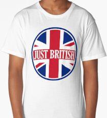 Just British Motoring Magazine Round Logo Long T-Shirt
