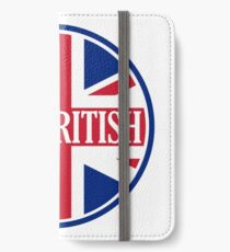 Just British Motoring Magazine Round Logo iPhone Wallet/Case/Skin