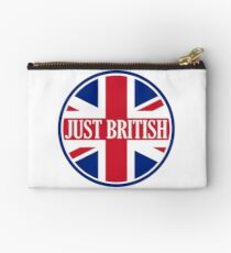 Just British Motoring Magazine Round Logo Studio Pouch