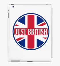 Just British Motoring Magazine Round Logo iPad Case/Skin
