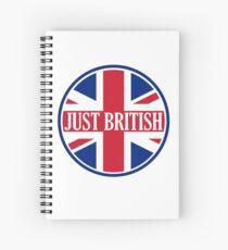 Just British Motoring Magazine Round Logo Spiral Notebook