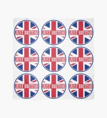Just British Motoring Magazine Round Logo Scarf