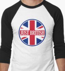 Just British Motoring Magazine Round Logo Men's Baseball ¾ T-Shirt
