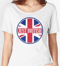 Just British Motoring Magazine Round Logo Women's Relaxed Fit T-Shirt