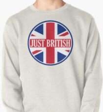 Just British Motoring Magazine Round Logo Pullover