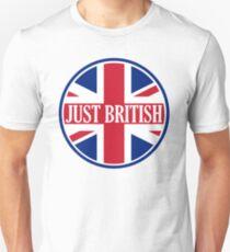 Just British Motoring Magazine Round Logo Unisex T-Shirt