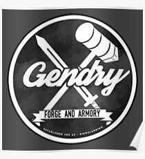 Gendry's Forge and Armory Poster