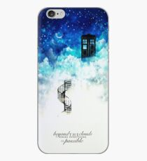 Beyond the clouds iPhone Case