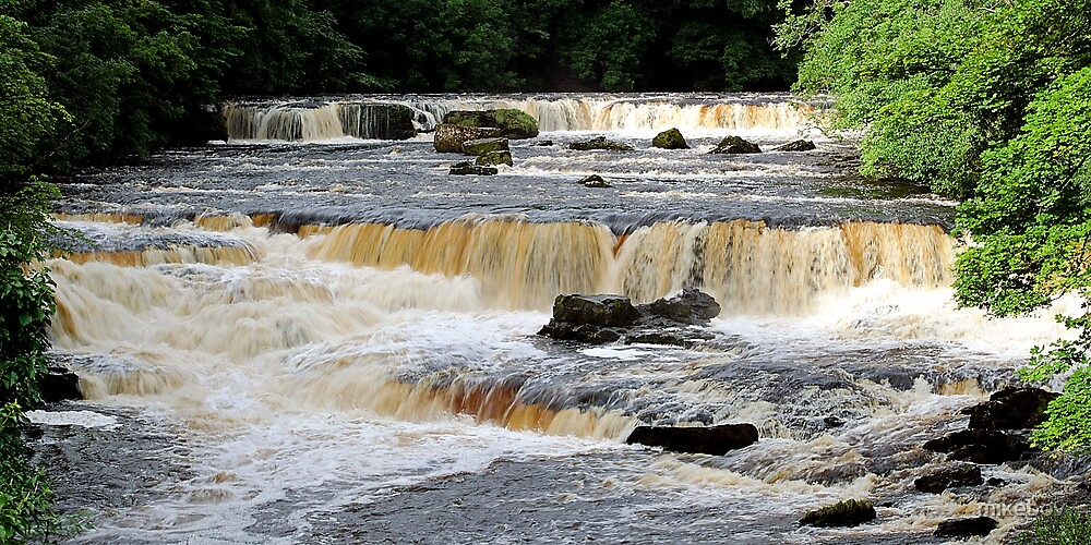 Aysgarth Upper Falls von mikebov