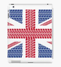 Tire track Union Jack British Flag iPad Case/Skin