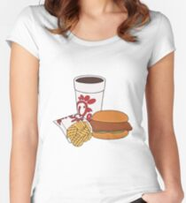 Chick Fil A Meal Women's Fitted Scoop T-Shirt