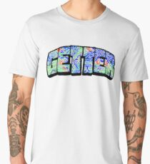 Getter - Wat the Frick psychedelic  Men's Premium T-Shirt