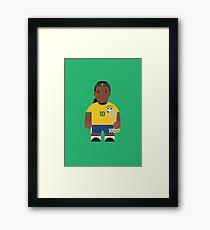 Ronaldinho Framed Print