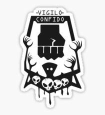 Vigilo Confido Sticker