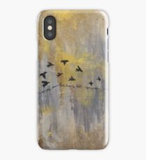 mockingbirds  iPhone Case/Skin