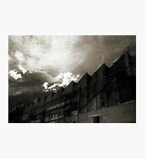 Landscape for Orson Wells # 2: Saw Photographic Print