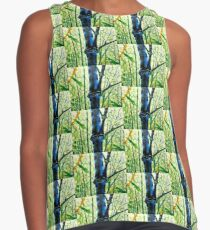 Backlight of Blue Bamboo Contrast Tank