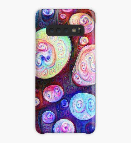 #DeepDream bubbles on frozen lake 5x5K v1450615886 Case/Skin for Samsung Galaxy