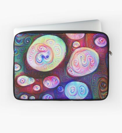 #DeepDream bubbles on frozen lake 5x5K v1450615886 Laptop Sleeve