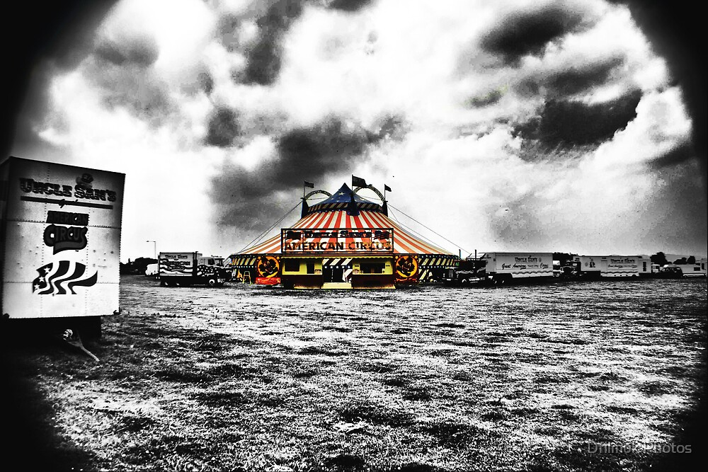 Uncle Sam's Circus HDR by Dfilmuk Photos