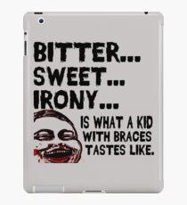 Bitter Sweet Irony iPad Case/Skin