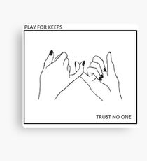 Trust No One Wall Art Redbubble