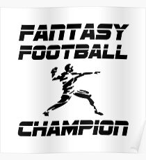 Fantasy Football Champion Poster