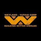 Wayland Yutani Corp (orange) by trev4000