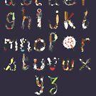 « alphabet vietnamien » par fafnnydesigns